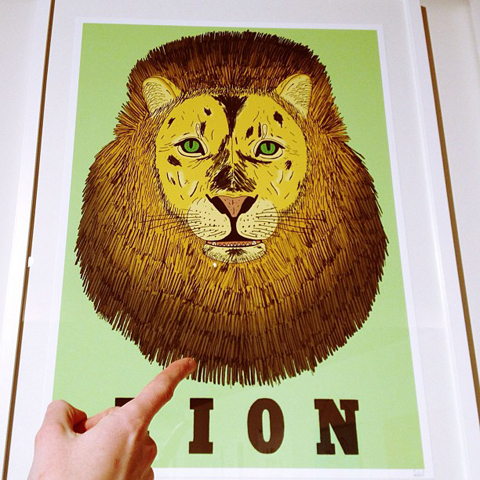 Pick Me Up London 2013 review-Tom Edwards lion