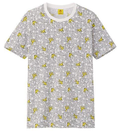 Uniqlo Keith Haring tshirt little man