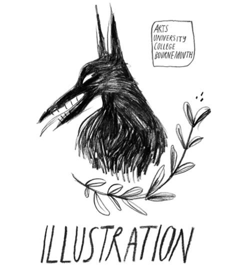 AUCB Feral Show 2012 flyer