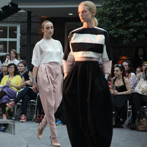Middlesex Fashion Graduate Show 2013-Anita Tetteh