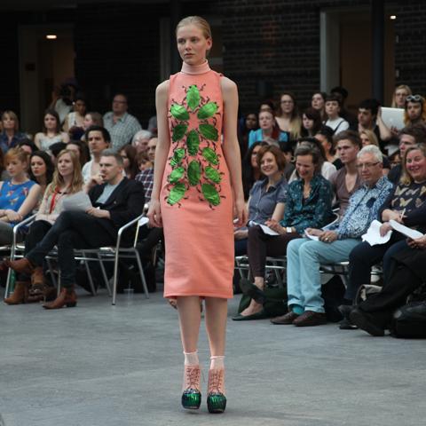 Middlesex Fashion Graduate Show 2013-Anna Giles