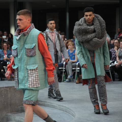 Middlesex Fashion Graduate Show 2013-Annest Gwynedd
