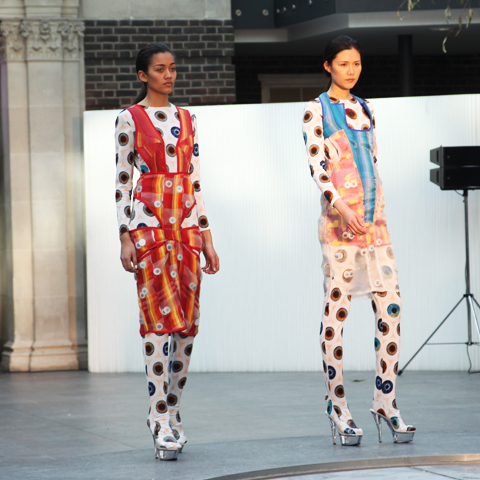 Middlesex Fashion Graduate Show 2013-Grace Peverall
