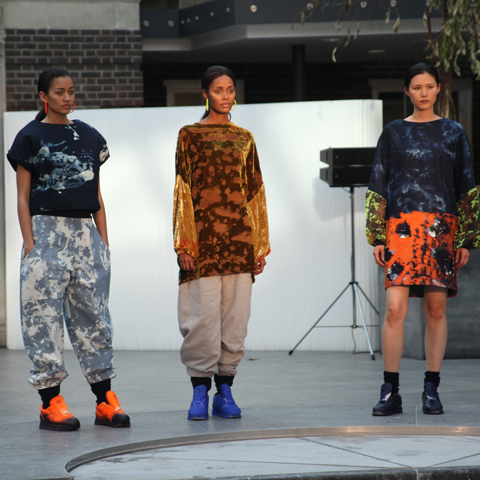 Middlesex Fashion Graduate Show 2013-I.R.Walcott