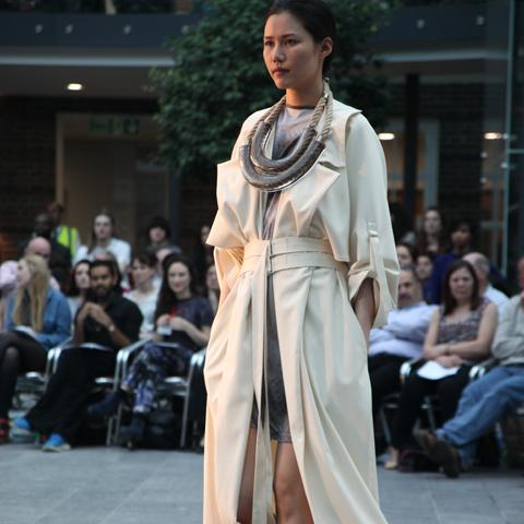 Middlesex Fashion Graduate Show 2013-Karolina Formici
