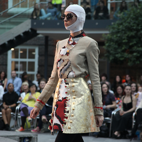 Middlesex Fashion Graduate Show 2013-Laurence Wright