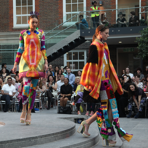 Middlesex Fashion Graduate Show 2013-Luke Anthony Rooney