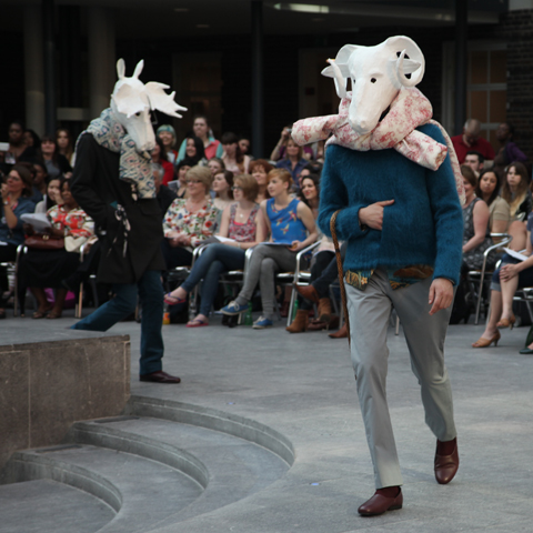 Middlesex Fashion Graduate Show 2013-Marion Doreau