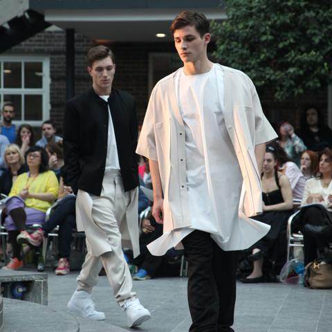 Middlesex Fashion Graduate Show 2013-Shiri Elmekless