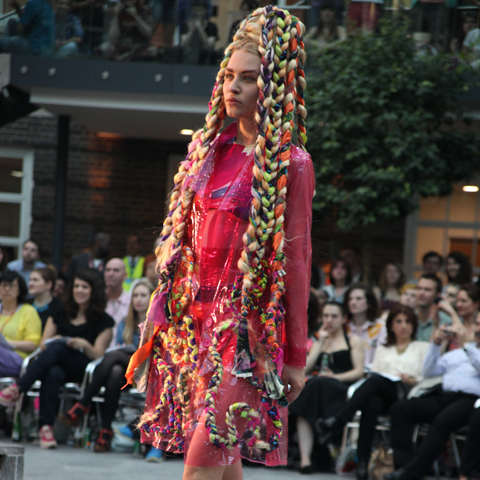 Middlesex Fashion Graduate Show 2013-Sophie Chiesa