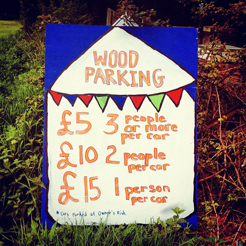 wood festival wood parking