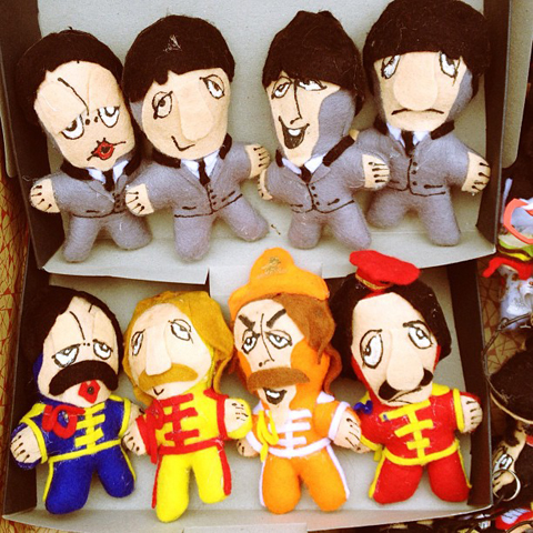 Felt Beatles by John Gathercole