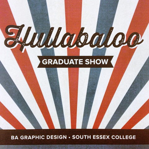 South Essex College Hullaboo degree show