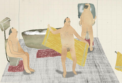 Jodie McNeil naked men