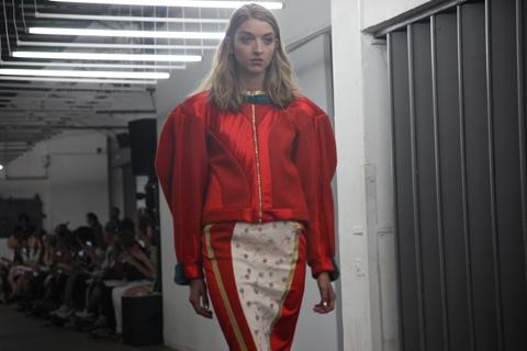 London College of Fashion degree show 2013-Valentina La Porta