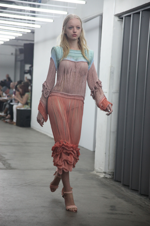 London College of Fashion degree show 2013-Sarah Mazza