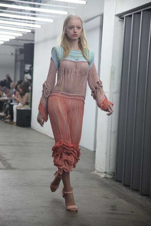London College of Fashion degree show 2013-Sarah Mazza