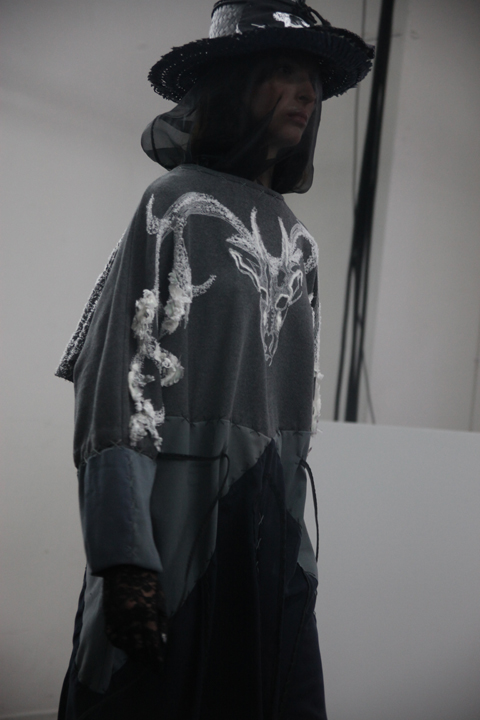 London College of Fashion degree show 2013-Roxanne Leger