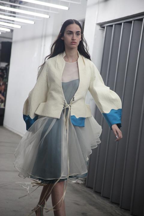 London College of Fashion degree show 2013-Shabnam Eslambolchi