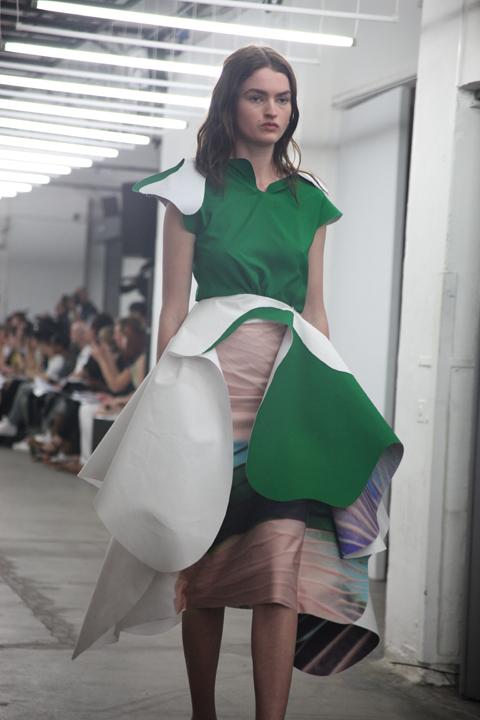 London College of Fashion degree show 2013-Oksana Anilionyte