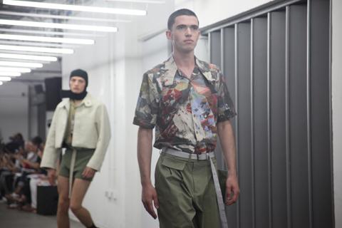 London College of Fashion degree show 2013-Ben Osborn
