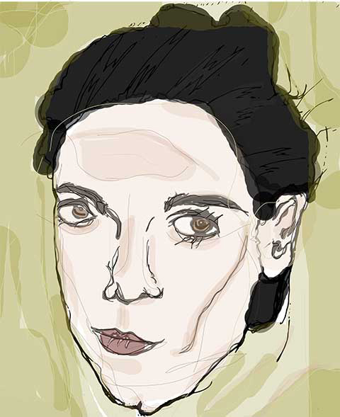 Nadine Shah by Jessica Buie