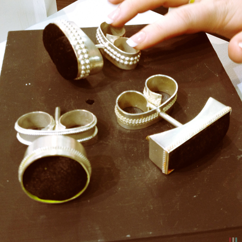New Designers show 2013-Kirsty Isla Nicholson oversized rings