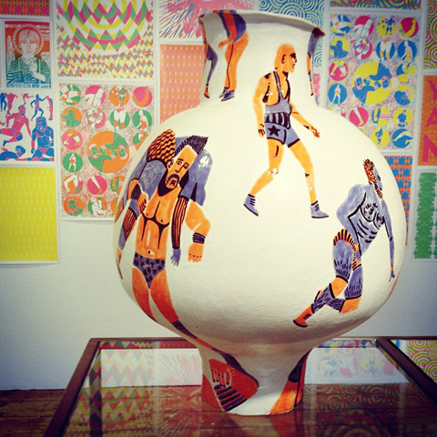 Pottery by Freya Faulkner