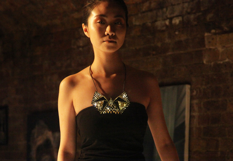 Raw Talent fashion show 2013-dian luo