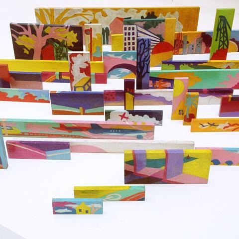 Susan Calvert installation