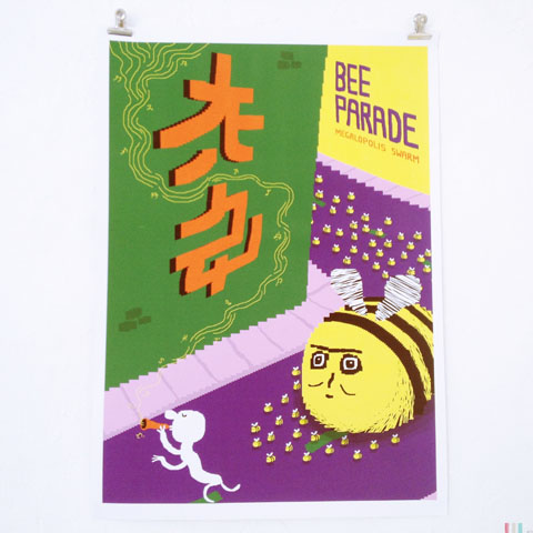 Jonny Clapham bee parade