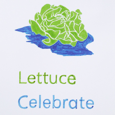 Lettuce Celebrate by Jeanette Slade