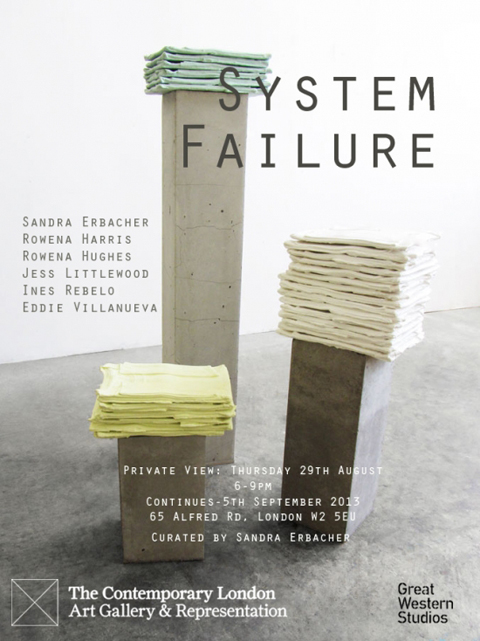 The Contemporary London System Failure flyer