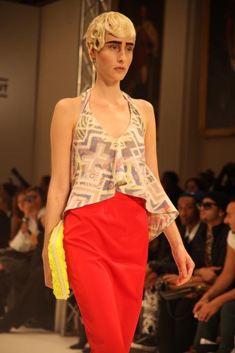 Bashratyan v at London Fashion Week