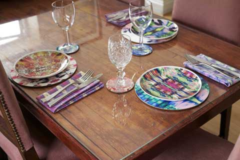 Dionne Sylvester plate designs