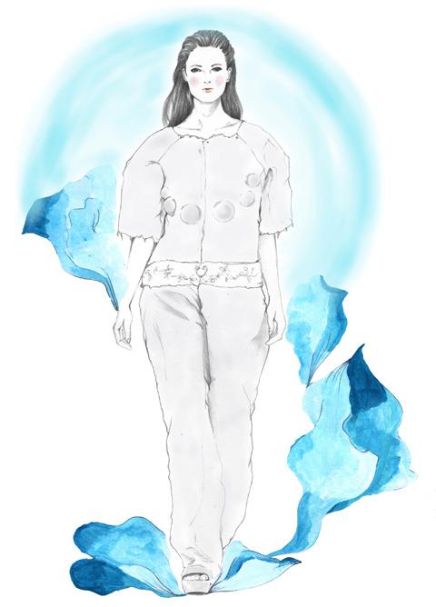 Hannah Williams S/S 2014 by Naisya Suherman