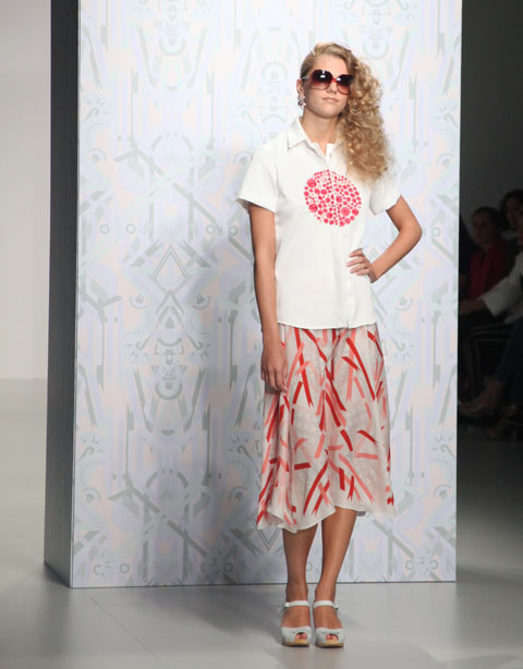 Holly Fulton SS 2014- photography by Amelia Gregory