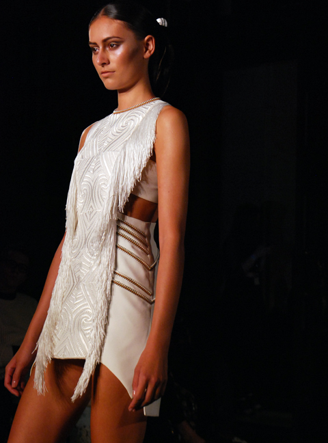 Lug Von Siga Catwalk SS 2014 photo by Maria Papadimitriou