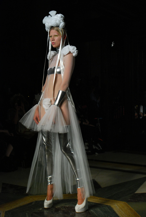 Pam Hogg S/S 2014 Catwalk photo by Maria Papadimitriou