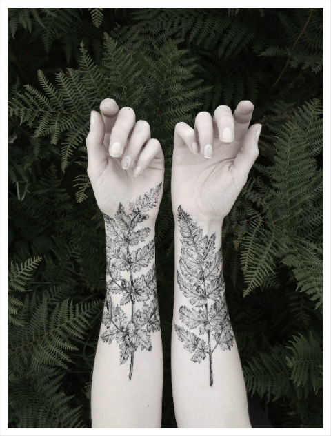 The Aviary: From the Forest temporary tattoos