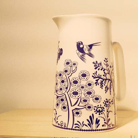 Ceramic jug by Louise Wilkinson