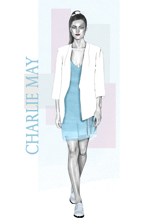 Charlie May S/S 2014 by Rebecca May Higgins