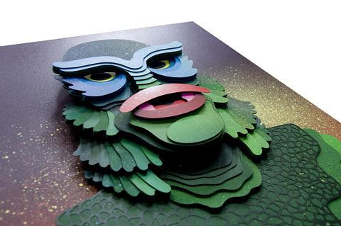 Eelus Ink_d Creature_papercut