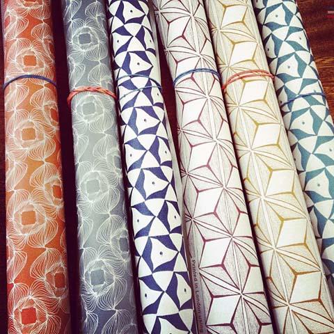 Geometric wrapping paper - Katy Goutefangea