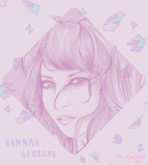 Hannah Georgas by Rose Petal Deer (Emily Katherine Reader)