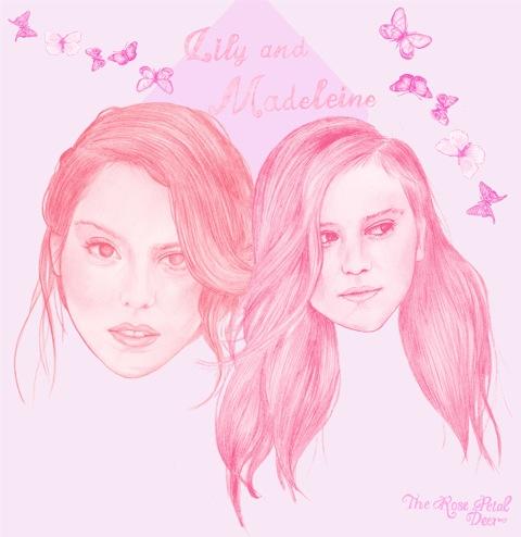 Lily & Madeleine by Rose Petal Deer (Emily Katherine Reader)