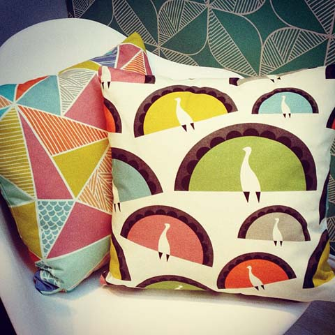 Tent London Sian Elin Thomas cushions