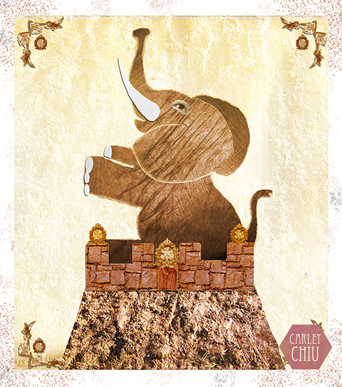 The Elephant of Castlebar Hill by Carley Chiu