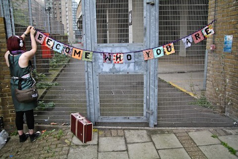 A Little Book of Craftivism -Projects - bunting
