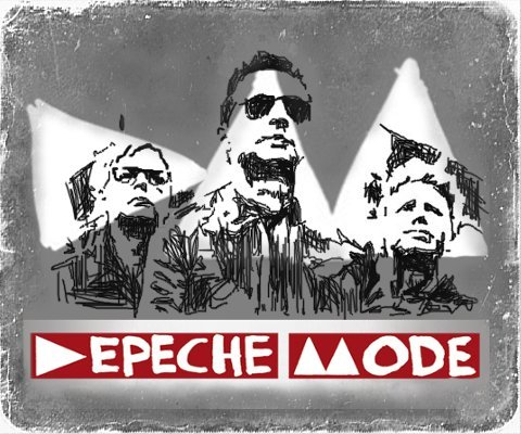 Depeche Mode by Laura Collins